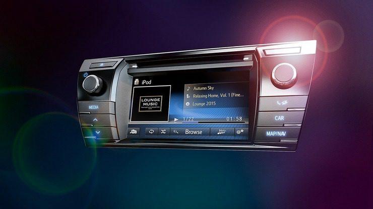 мультимедійна система Toyota Touch 2